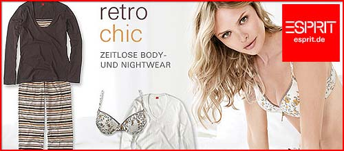 Esprit Retro Chic Body und Nightwear