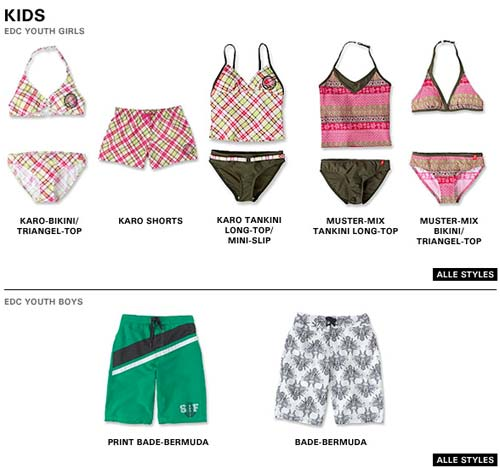 Esprit Swim World - Strandmode und Bademode -